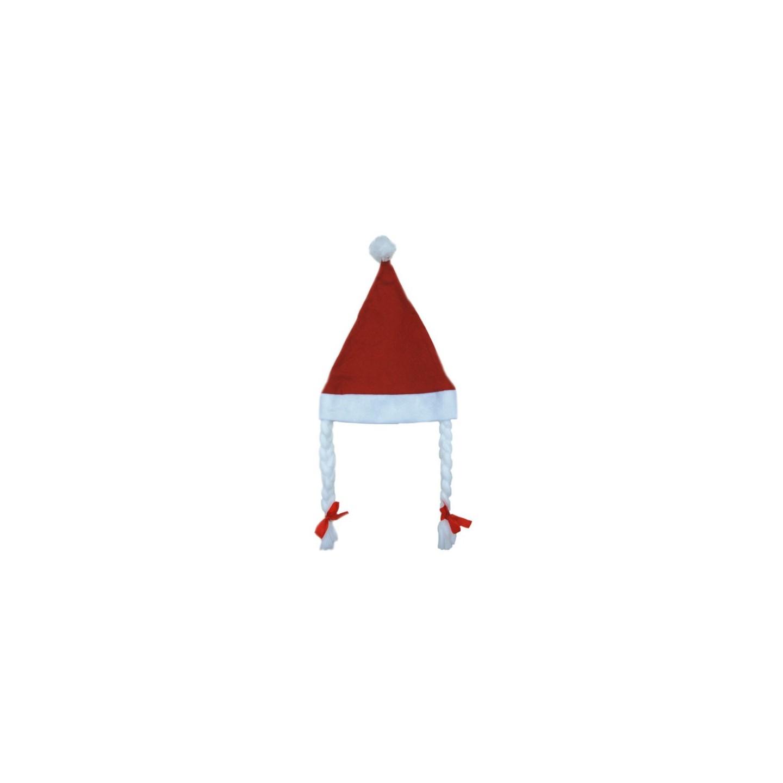 goedkope kerstmuts kerstmutsen met vlechtjes