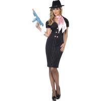 Maffia Kostuum Gangster Moll Dames