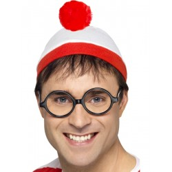 Waar is Wally verkleed set 2-delig