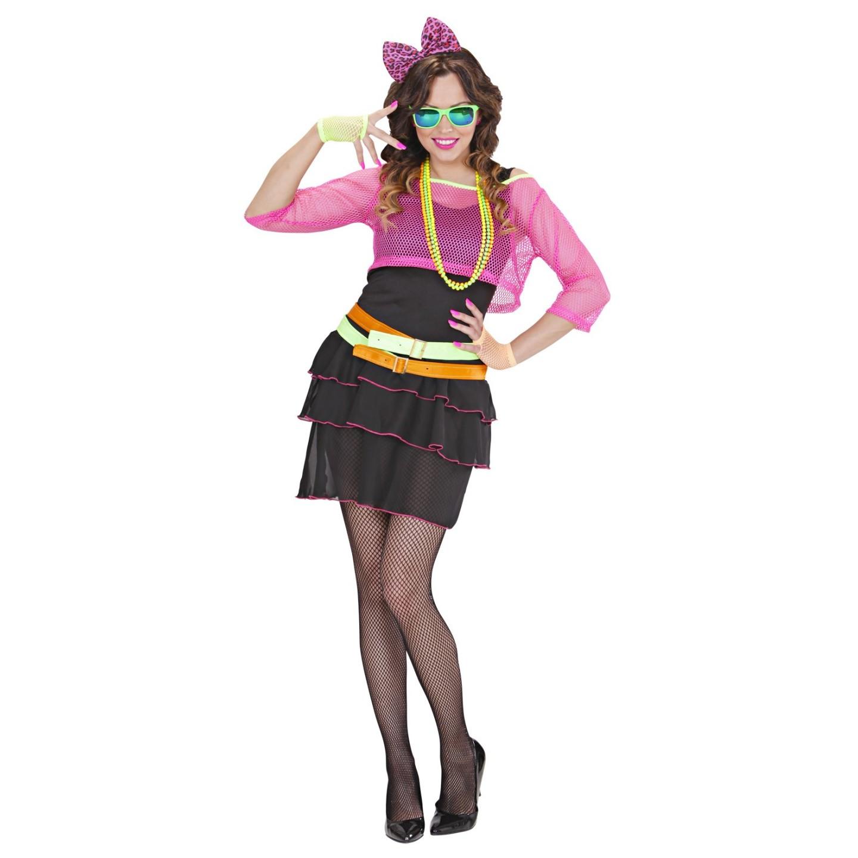 Vaak Jaren 80 neon jurk voor vrouwen | Jokershop Verkleedwinkel #XL97
