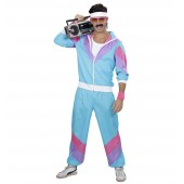 jaren 80 retro trainingspak jogging verkleedkleding