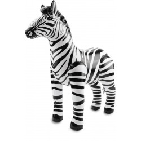 Opblaasbare Zebra 60x55 cm