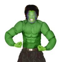 Hulk Muscle shirt groen voor kinderen
