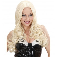 Feestpruik Gisele blond