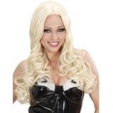 Feestpruik dames blond goedkope pruiken carnavalspruiken