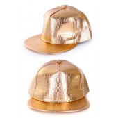 Hiphop pet goud rap cap