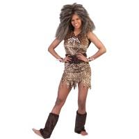 Kostuum Holbewoonster / Jungle Lady