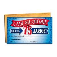 Cadeau Cheque 75-Jarige
