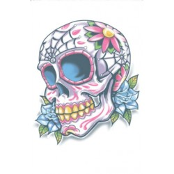 Day of the Dead Tattoo Calavera