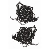 Gothic Tattoo Black Roses