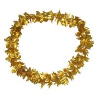 Bloemenkrans goud