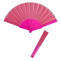 Waaier Roze effen kleur