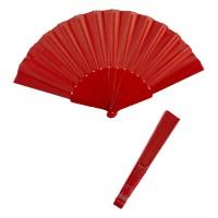 Waaier Rood effen kleur