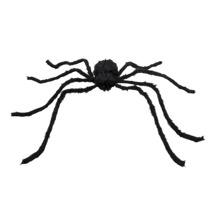 Nep spin XL zwart 75x125cm
