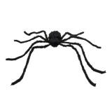 nep spin grote zwarte halloween decoratie versiering