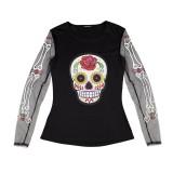 Dia De Los Muertos t-shirt kledig kostuums halloween day of the dead