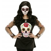 Dia De Los Muertos t-shirt kledig kostuums halloween day of the dead