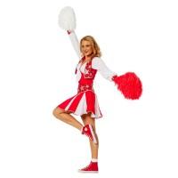 Cheerleader Pakje deluxe Rood*