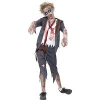 Zombie schooljongen kostuum