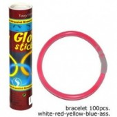 Glowsticks bracelet 100st