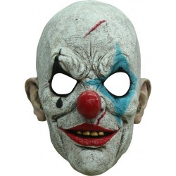 Halloween masker Killer Clown Tears
