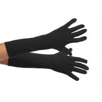 Zwarte Pieten handschoenen 40cm