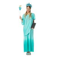 Vrijheidsbeeld kostuum Liberty Lady