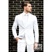 witte Opposuits White Night wit pak kostuum