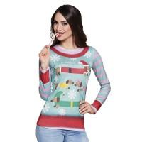 Foute Kerst shirt Wiener Wonderland 3D