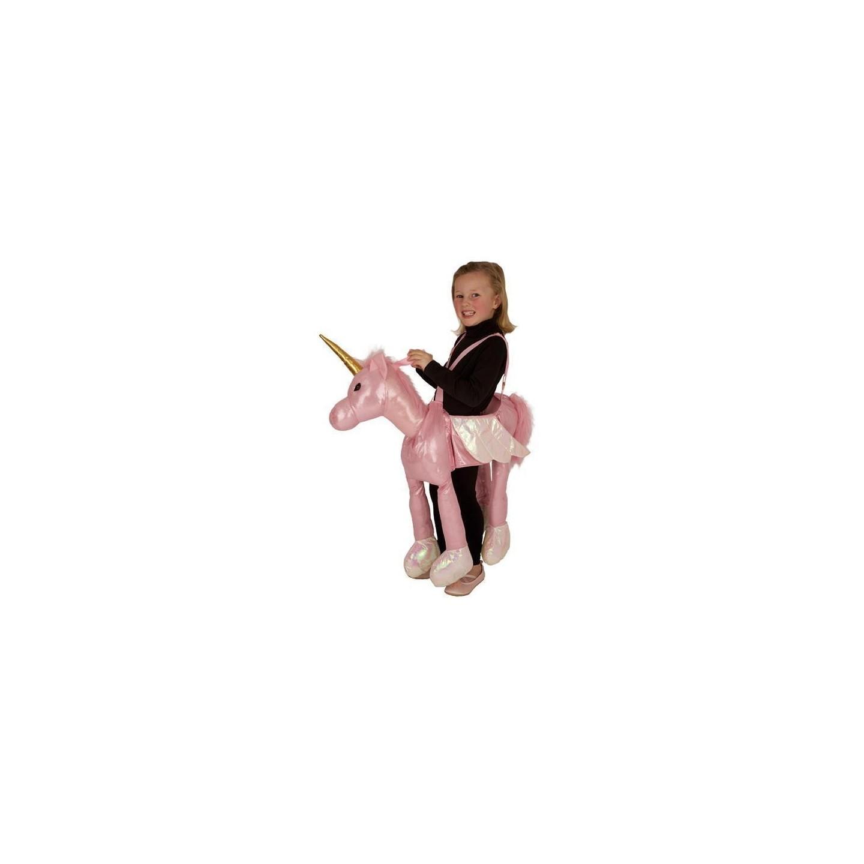 instap kostuum eenhoorn éénhoorn pak carnavalskleding kind jump in ride on pak