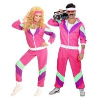 Jaren 80 retro trainingspak Unisex kleding foute kostuum carnavalsklediij