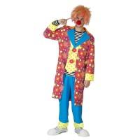 Clown kostuum Stars Heren carnavalspak clownspak carnavalskostuum verkleedkledij
