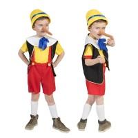 Pinokkio kostuum Kinder carnavalspak