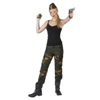 Leger broek camouflage Cathy vrouwen kostuum