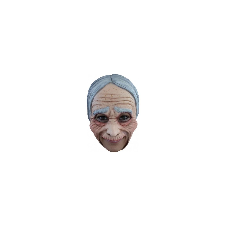 Carnaval Masker Latex Oude Vrouw Oma Jokershop Carnavalswinkel