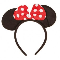Minnie mouse oren Diadeem met strikje