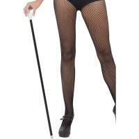 Jaren 20 Charleston dans stok zwart dansstok wandelstok