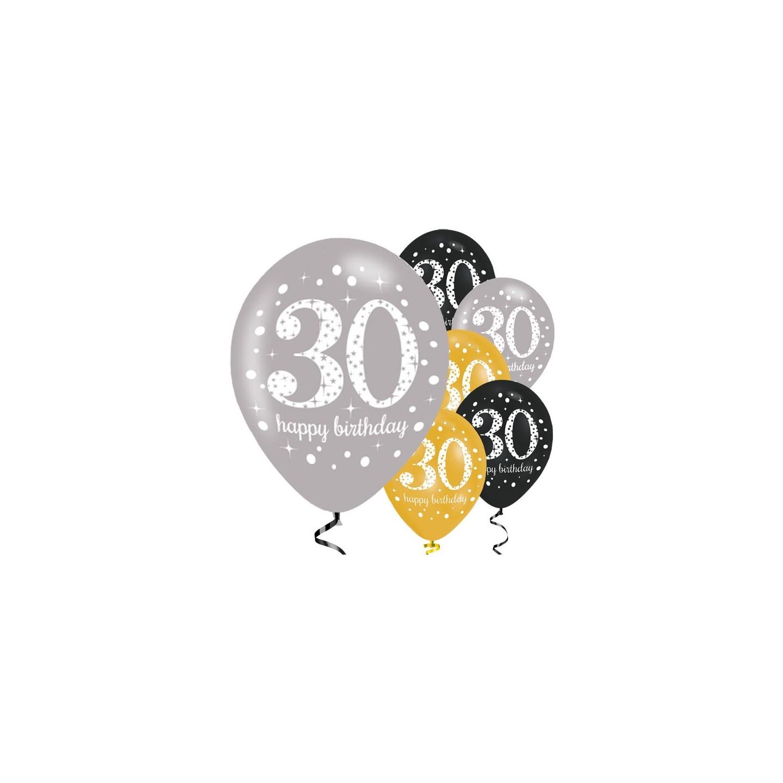 verjaardag 30 jaar Verjaardag ballonnen 30 jaar bestellen ? | Jokershop.be   Feestwinkel verjaardag 30 jaar