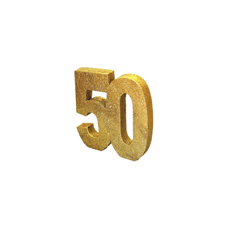 Verjaardag versiering 50 jaar feestartikelen jokershop for Versiering goud