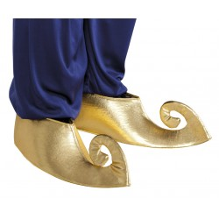 Sultan schoen overtrekken Goud