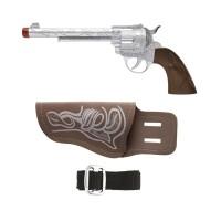 Cowboy geweer met holster en riem
