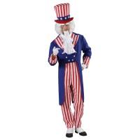 Uncle Sam kostuum Amerikaans pak heren