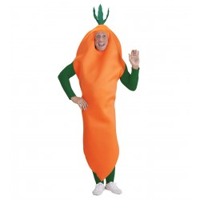 Wortel kostuum unisex Carnavalspak wortel