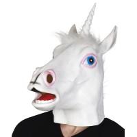 Eenhoorn masker latex