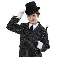 Hoge hoed zwart voor kinderen