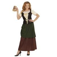 Middeleeuwse boerin outfit Breugel kostuum