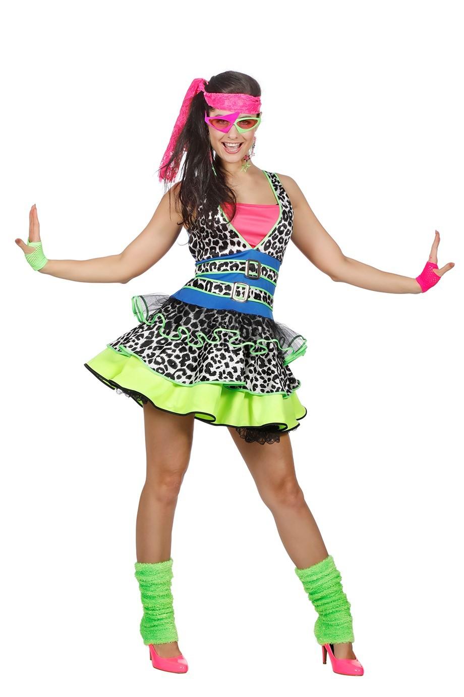 Fabulous Jaren 80 jurk bestellen ? | Jokershop.be - Fluo neon kleding #UH13
