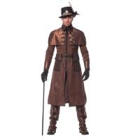 Steampunk kostuum voor heren deluxe