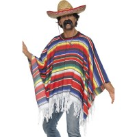Mexicaanse poncho kopen carnaval