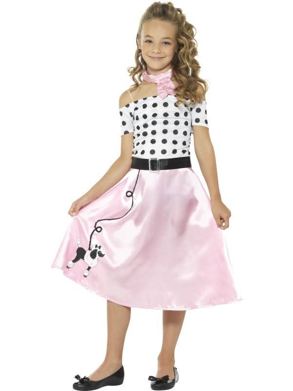 Uitgelezene Jaren 50 jurk kind kopen ?   Jokershop.be - Carnavalskleding QG-24